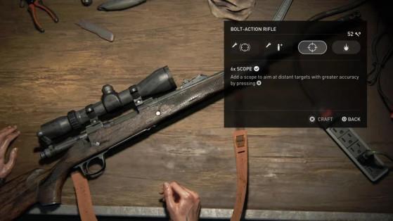 N'oubliez pas d'améliorer vos armes aux établis. - The Last of Us 2
