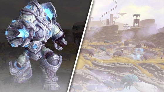 WoW Shadowlands World Boss : Valinor, la Lumière des éons
