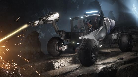 Star Citizen : Le véhicule minier ROC en vente et jouable