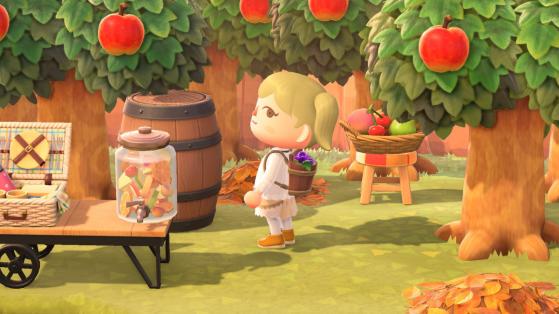 Animal Crossing New Horizons : objets saisonniers de septembre