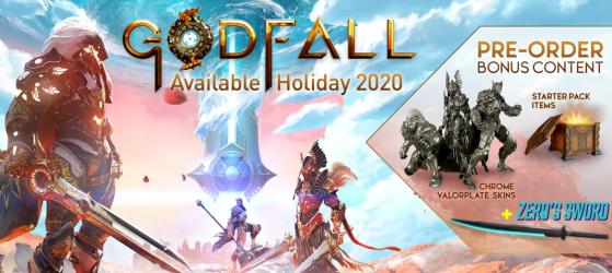 Bonus de précommande  de GodFall - Godfall