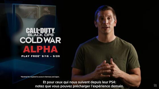 Call of Duty Cold War : phase d'alpha pour les joueurs PS4