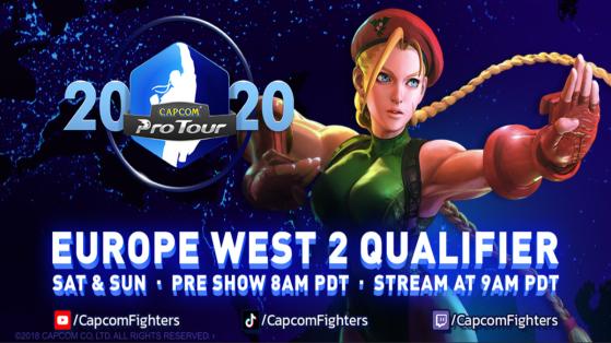Street Fighter V Capcom Pro Tour Online Europe de l'Ouest 2 : le suivi complet