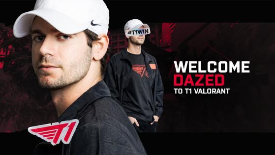 Valorant : DaZeD signe chez T1 et rejoint les anciens iBUYPOWER