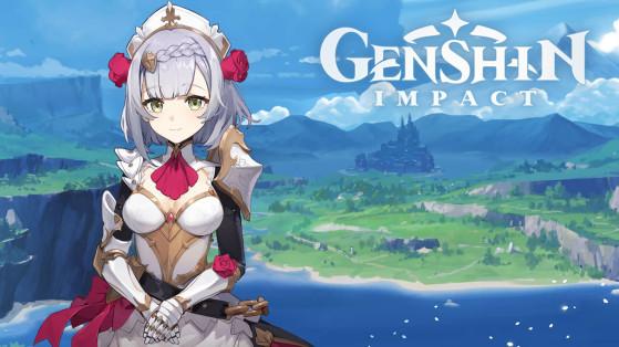 Genshin Impact : build Noelle, armes et sets d'artefacts