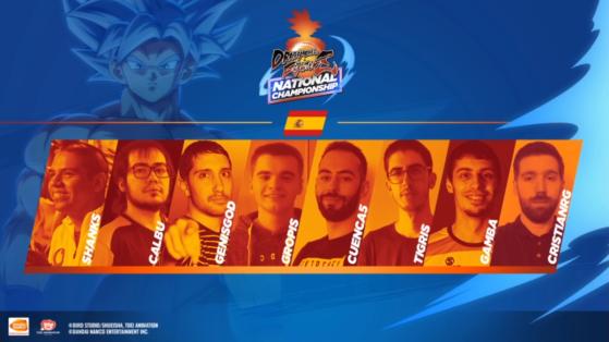 Dragon Ball FighterZ National Championship Espagne : le suivi complet