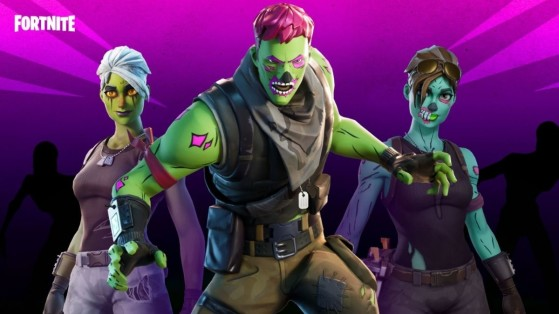 Fortnite : le skin Goule dans la boutique du 16 octobre 2020