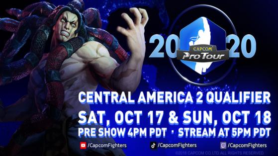 Street Fighter V Capcom Pro Tour Online Amérique Centrale 2 : le suivi complet