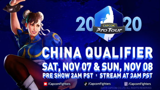 Street Fighter V Capcom Pro Tour Online : escale en Chine