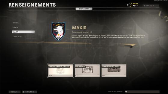 Black Ops Cold War Zombie : les renseignements de Maxis, où les trouver