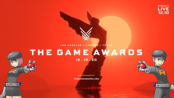 Un événement pendant les Game Awards dans Pokémon GO