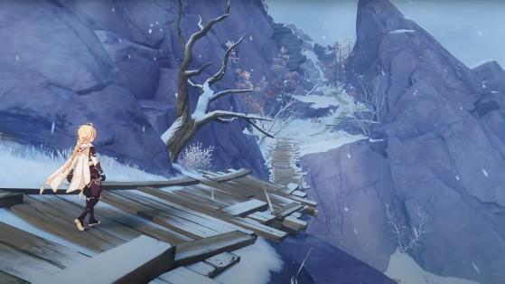 Genshin Impact : décongeler les fragments, guide de la quête