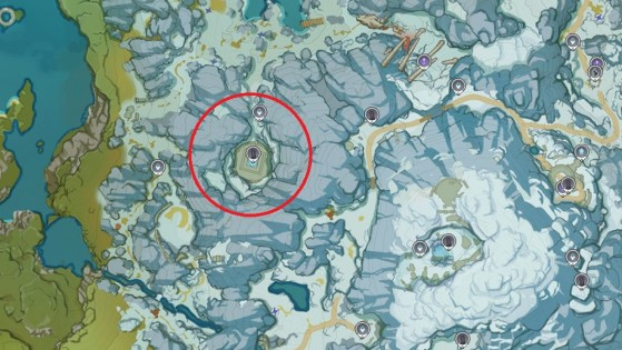 Emplacement 2nd fragment - Genshin Impact