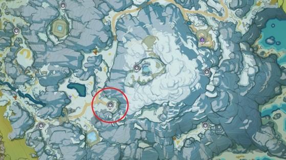 Emplacement du 3ème fragment - Genshin Impact