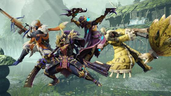 Armes Monster Hunter Rise, tutoriel, guide, liste