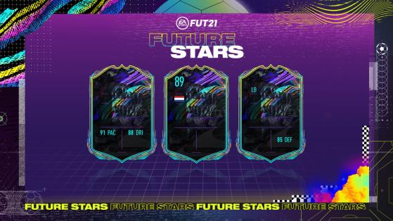 FUT 21 - Future Stars 2, l'équipe complète