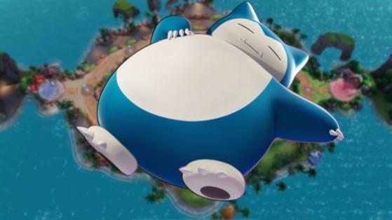 Ronflex (Snorlax) Pokémon Unite : build, attaques, objets et comment le jouer