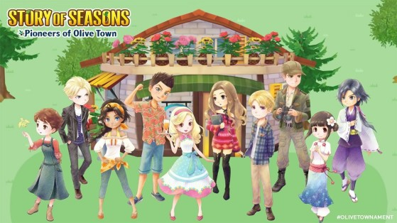 Les prétendant-e-s au mariage - Story of Seasons : Pioneers of Olive Town