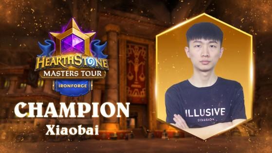 Hearthstone Masters Tour Ironforge : Maverick second vaincu par Xiaobai