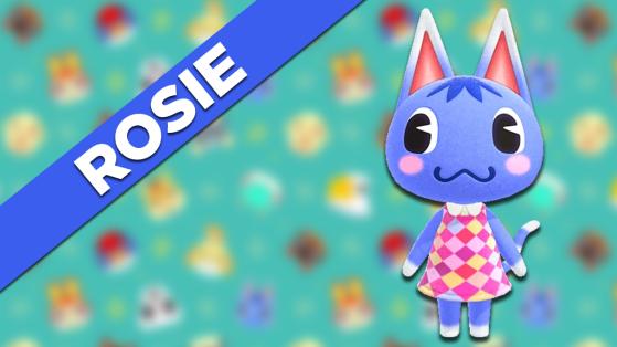Rosie sur Animal Crossing New Horizons : tout savoir sur cet habitant