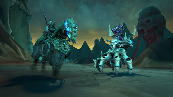 WoW Shadowlands : Montures du Patch 9.1 : Chains of Domination