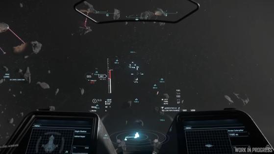Les vaisseaux cachés sont révélés à proximité - Star Citizen