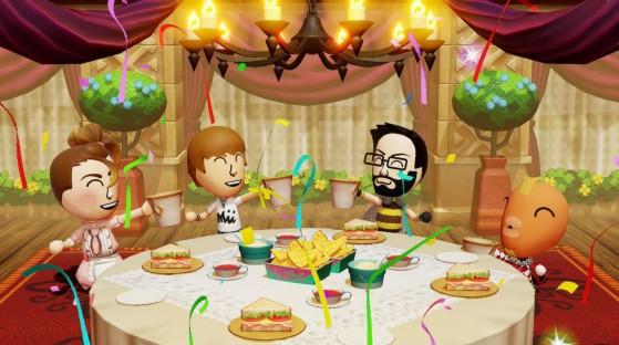 Un bon repas entre amis ! - Miitopia