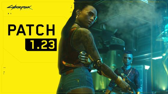 Patch 1.23 de Cyberpunk 2077 disponible sur PC et consoles