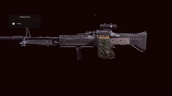 Quelle est la meilleure classe pour la M60 sur Warzone ?