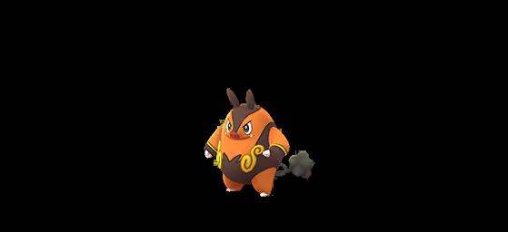 Grotichon normal - Pokemon GO