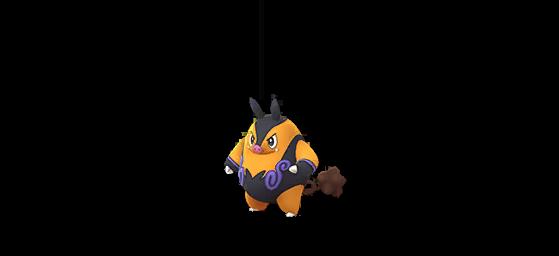 Grotichon shiny - Pokemon GO