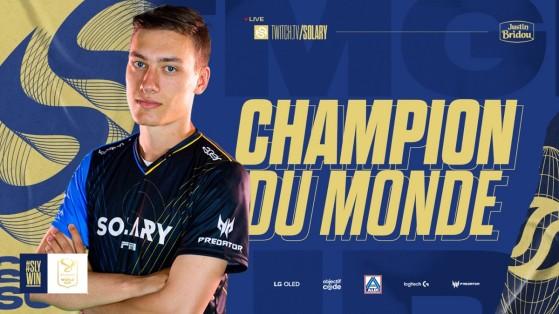 TrackMania : Carl Jr. Champion du Monde 2021