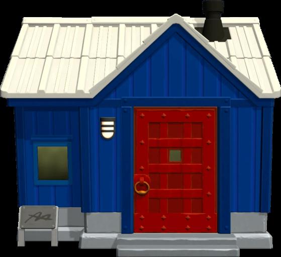 La maison de Tupux - Animal Crossing New Horizons