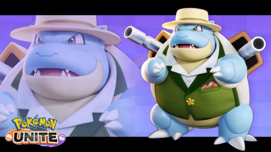 Tortank est désormais disponible sur Pokémon Unite avec un nouveau skin
