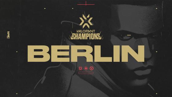 Valorant : la finale mondiale du VCT se déroulera à Berlin