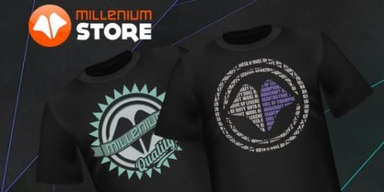 Millenium store : Nouveaux t-shirts