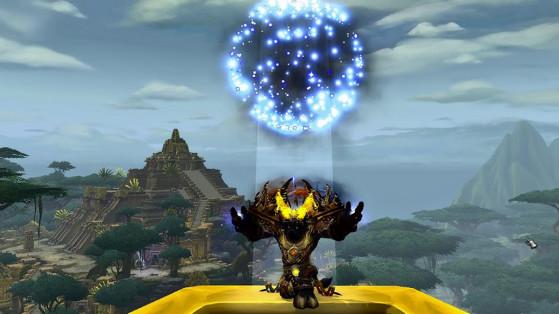 Effet de la Pierre de foyer d'ancien lunaire - World of Warcraft