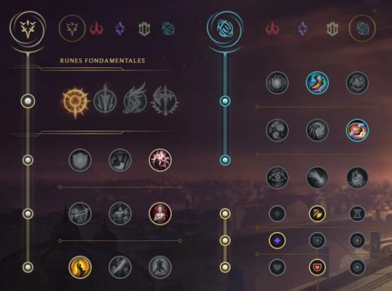 Runes pour Lucian Mid - League of Legends