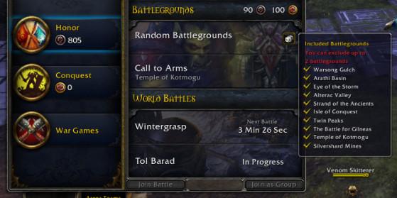 Petit changement dans l'interface