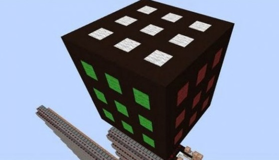 Rubik's Cube sur Minecraft
