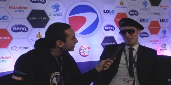 Interview DiGiDiX à l'ESWC 2013