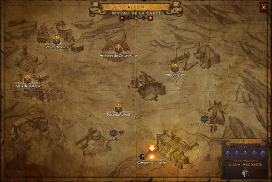 Un joueur arrivant dans une partie à la fin, juste avant l'attribution de la cache, y a quand même droit. La même chose s'applique aux joueurs n'ayant au final accompli qu'une partie des quêtes. - Diablo 3