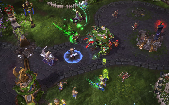 et enfoncer les fortifications ennemies ! - Heroes of the Storm