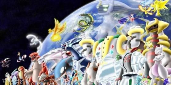 Les pok mon l gendaires de la 6g millenium - Pokemon legendaire ...
