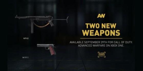 CoD AW : Deux nouvelles armes