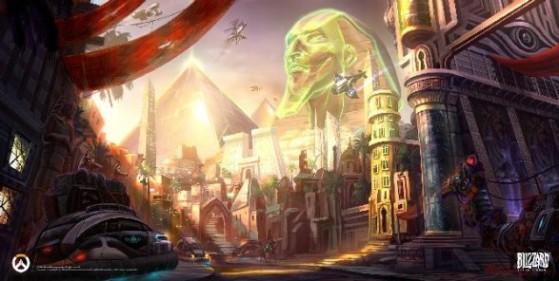 Carte : Temple d'Anubis