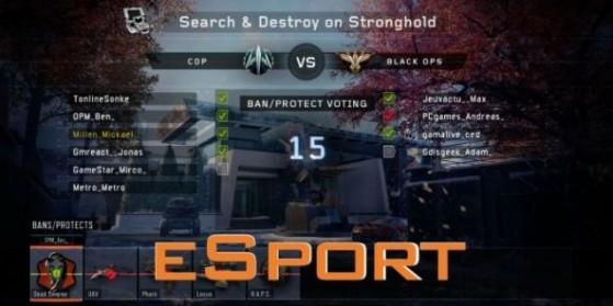 BO3 : Guide eSport - Ban, Protect et Pick