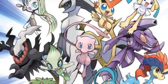 Distribution de Pokémon fabuleux
