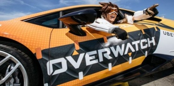 Overwatch et Uber à la Pax East