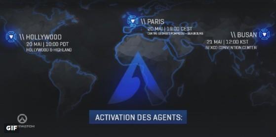 Overwatch - Activation des agents 20 mai